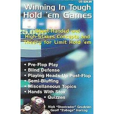 Winning in Tough Hold 'em Games (Paperback)