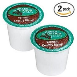 Green Mountain Coffee Vermont Country Blend, 24 ct K-Cups for Keurig