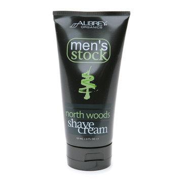 Aubrey Organics Men's Stock North Woods Shave Cream