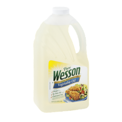 Pure Wesson Vegetable Oil 100% Natural