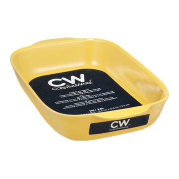 CW by CorningWare Big Baker Square Stoneware 3 QT