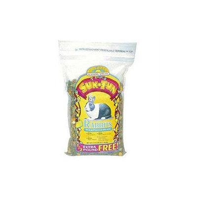 .Sun Seed Sun Fun Party Food for Rabbits (3.5-lb resealable bag)