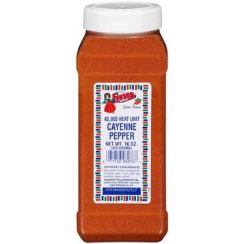 Bolner's Fiesta Brand Cayenne Pepper, 16 oz