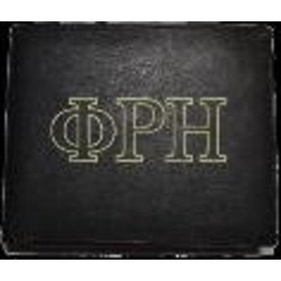 Great Value Phi Iota Alpha Chrome Frame - Phi Iota Alpha Greek Leather Wallet