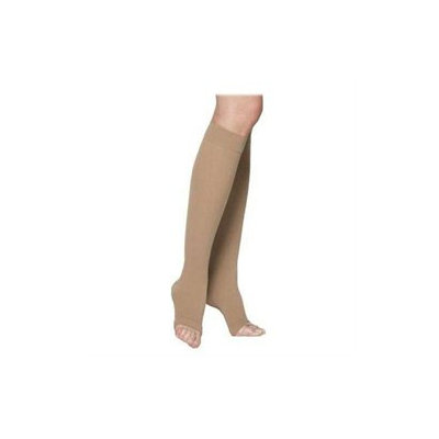 Sigvaris 230 Cotton Series 20-30 mmHg Open Toe Thigh High Sock - Size: L3