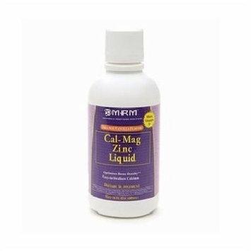 MRM Cal-Mag Zinc Liquid, Orange-Vanilla 16 fl oz (480 ml)