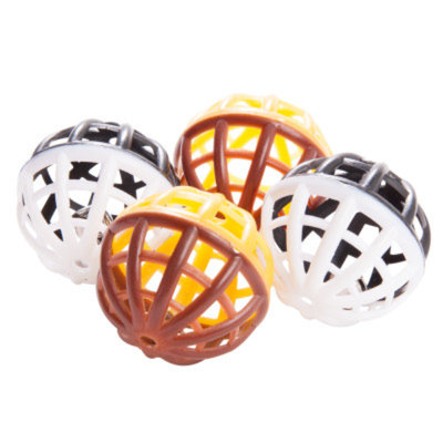 Grreat ChoiceA Safari Balls Value Pack Cat Toy