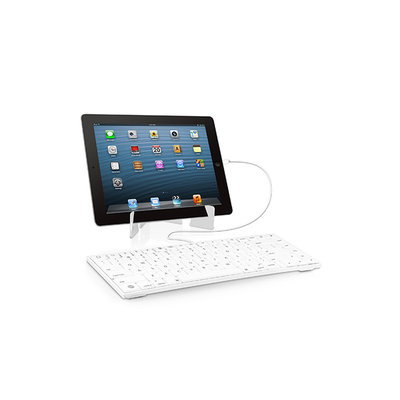 Macally keyboard for iPad White