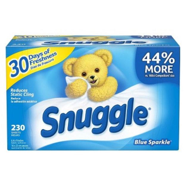 Snuggle Blue Sparkle Fresh Scent Dryer Sheets 230 ct