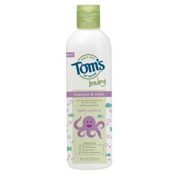 Tom's of Maine Baby Shampoo & Wash, Lightly Scented, 10 fl oz