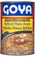 Goya® Refried Pinto Beans With Chipotle