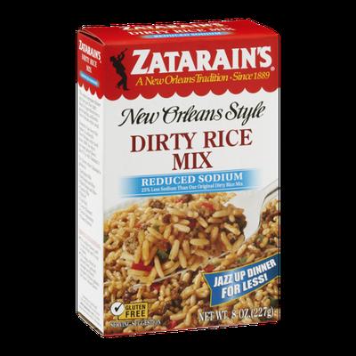 Zatarain's New Orleans Style Dirty Rice Mix Reduced Sodium