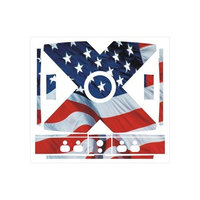 Meijer Xbox Skins - USA Flag Xbox Skin - 13 Pieces