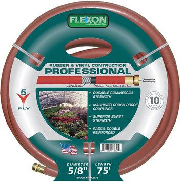 Commerce Corp - Flexon 5/8 Inch X 75 Feet Professional Garden Hose