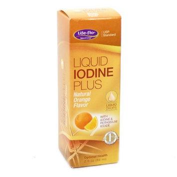 Liquid Iodine Plus Orange Life Flo Health Products 2 oz Liquid