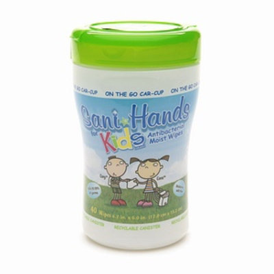 Sani Hands Kids Antibacterial Moist Wipes