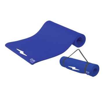 Pure Fitness Deluxe Fitness Mat, Blue Iris, 1 ea