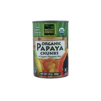 Native Forest Papaya Chunks (6x14 Oz)