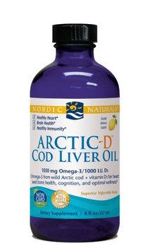 Nordic Naturals Arctic - D Cod Liver Oil - Lemon 8 oz.