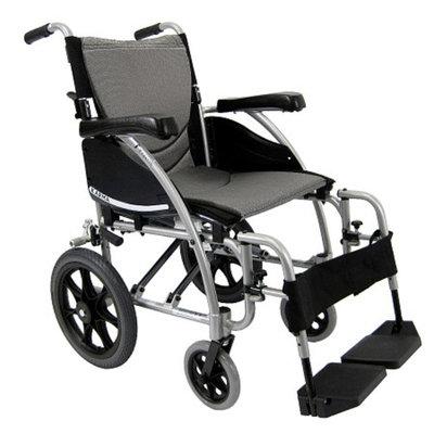 Karman 16 inch Aluminum Transport Wheelchair