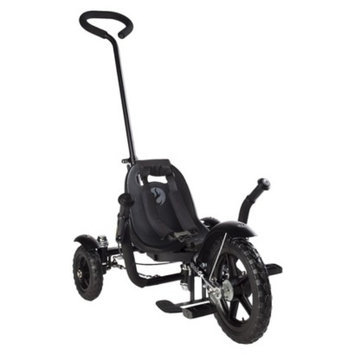 Mobo Total Tot (Black): The Roll-to-Ride Three Wheeled Cruiser (12 )