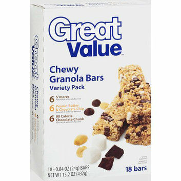 Great Value Chewy Granola Bars