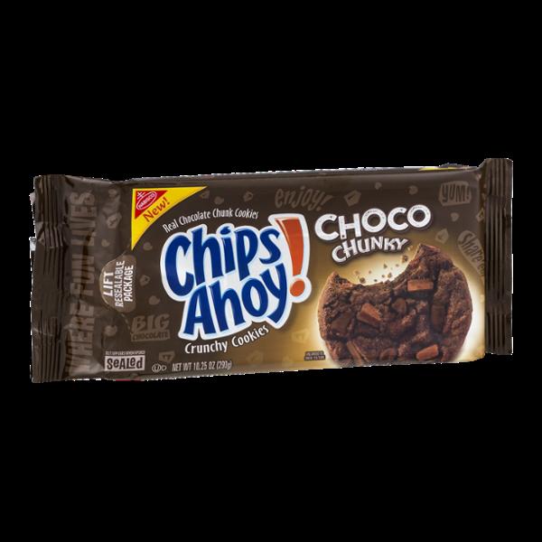 Nabisco Chips Ahoy! Crunchy Cookies Choco Chunky