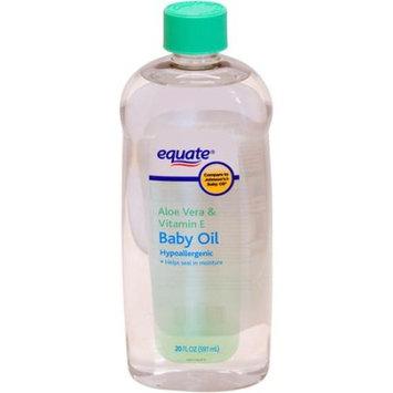 Equate Aloe Vera & Vitamin E Baby Oil, 20 fl oz