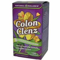 Natural Balance Colon Clenz 120 Vegetarian Capsules