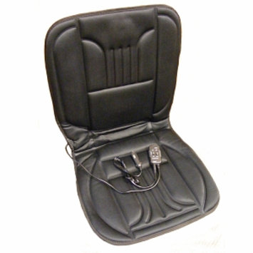 Trillium Products Heated Seat Cushion with Hi-Lo Back Massage, 1 ea