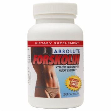 Absolute Nutrition Absolute Forskolin Metabolic Support Formula, Capsules, 30 ea