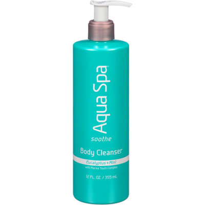 AQUA SPA Aqua Spa Eucalyptus + Mint Soothe Body Cleanser, 12 fl oz
