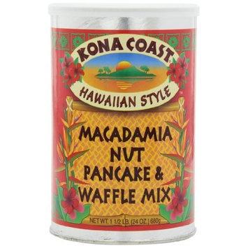 Kona Coast Macadamia Nut Pancake Mix, 24-Ounce (Pack of 3)