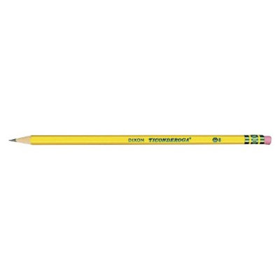 Ticonderoga Woodcase HB #2 Pencil with Yellow Barrel (96 Pack)