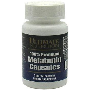 Ultimate Nutrition 100% Premium Melatonin -- 60 Capsules