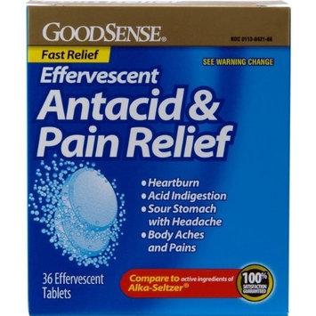 Good Sense Effervescent Antacid & Pain Relief