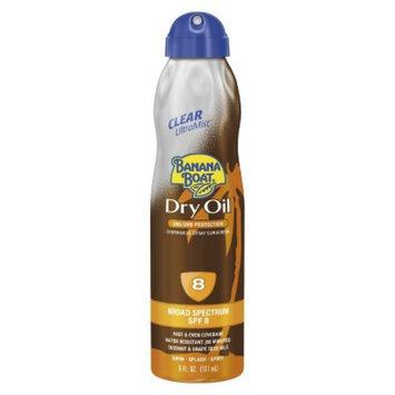 BANANA BOAT Banana Boat Dry Oil Ultra Mist with SPF 8 - 6 oz