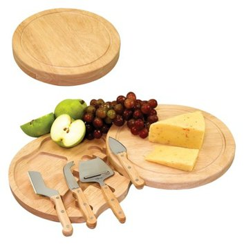 Picnic Time Cheese Board with Tools