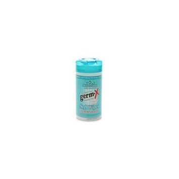Germ-X Hand Sanitizer, Wipes for Hands and Face 42 ea