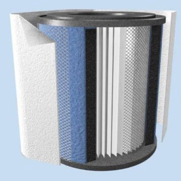 Austin Air Allergy Machine Jr. 205 Replacement Filter - Black