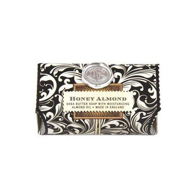 Michel Design Works Over-size Scented Triple-milled Bath Soap Bar, Primrose Path, 7.3 Ounce