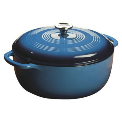 Lodge 7.5 Quart Caribbean Blue Dutch Oven EC7D33