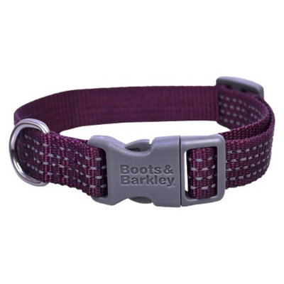 Boots & Barkley Reflective Core Collar S - Purple