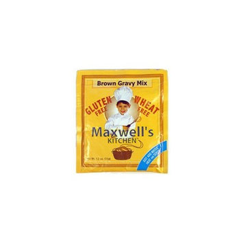 Maxwell's Kitchen Brown Gravy Mix Gluten Free Beef -- 1.2 oz