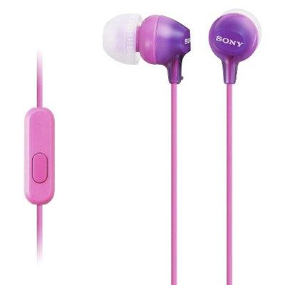 Sony Fashionable Headset for Smartphones - Violet (MDREX15AP/VIO)