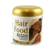Bronner Brothers BB Hair Food Hair & Scalp Nourishment For Relaxed & Pressed Hair, 6 Oz