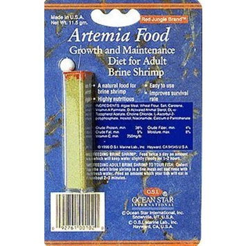 Ocean Star International OSI Artemia Brine Fish Food