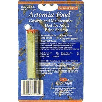 Ocean Star International OSI Artemia Brine Fish Food