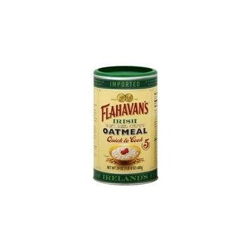 Flahavans Irish Steel Cut Oatmeal, 24 oz, - Pack of 6