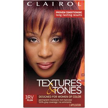 Textures & Tones Clairol  3RV Plum Hair Color